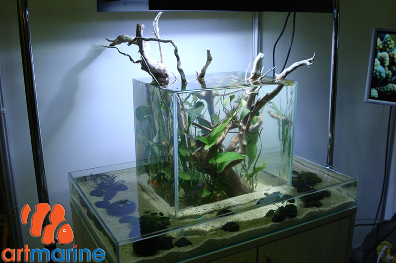 Водопад аквариум своими руками